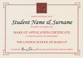 make up ima qualification