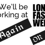 We're going to London Fashion Week again!