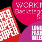 We are working at LONDON FASHION WEEK SS20